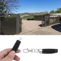 Electric 433mhz Car Garage Door Remote Control Opener Black