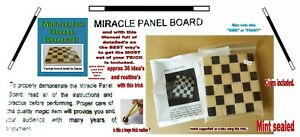 vintage miracle board coin board magic trick NEW similar to tenyo only real wood
