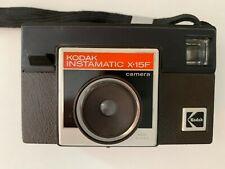 Kodak Instamatic X-15 Point & Shoot Film Camera