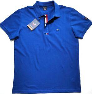 BNWT Paul & Shark Yachting  Mens Blue Polo T-Shirt