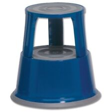 METAL KICK STEP STOOL BLUE NEW BOXED BUY NOW £26.95