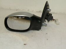 PEUGEOT 206 2004 LHD  FRONT LEFT ELECTRIC  WING MIRROR SILVER CP4985000