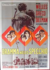 MANIFESTO, DRAMMA NELLO SPECCHIO (CRACK IN THE MIRROR) ORSON WELLES, KNOX, PUTZU