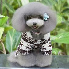 Fashion Pet Dog Winter Warm Clothes Puppy Jumpsuit Hoodie Coat Apparel Xmas Hot