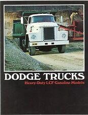 1973 Dodge Heavy-Duty LCF Gasoline Truck Brochure