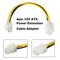 4Pin ATX 12v CPU EPS  Power Extension Cable Adapter for Motherboards 18cm