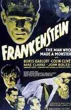 Film Frankenstein 05 A3 Box Canvas Print