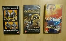 WWF - Armageddon 2000 - WWE Survivor series 2004 and WWE Judgment day 2003 VHS