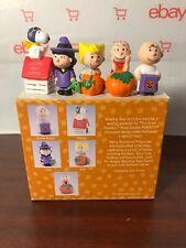 Peanuts Pumpkin Patch Merry Miniatures Halloween Hallmark 1996 Box 5 Pieces