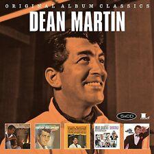 DEAN MARTIN - ORIGINAL ALBUM CLASSICS 5 CD NEU