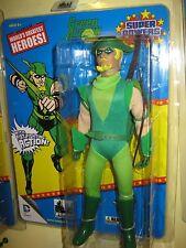 """Retro Mego Wgsh 8"""" Dc Comics action figure lot Aquaman Shazam Green Arrow Superm"""