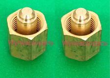 2x Fit Lml & Lgh 6.6L 11-16 Hpcr Duramax Diesel Injector Cap Block-Off Tool 16Mm