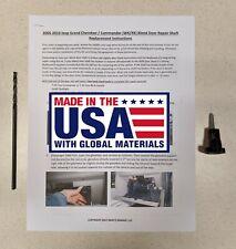 2005-2010 Jeep Grand Cherokee Commander WK XK Blend Door Repair Kit DUAL ZONE
