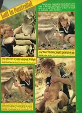 """Leif Garrett - Willie Aames - 11"""" x 8"""" Magazine Clipping Pinup Mini-Poster"""