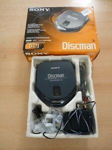 SONY Discman D-171 Digital Mega Bass Personal CD Player - Grey | Thames Hospice