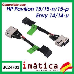 CONECTOR DE CORRIENTE PARA PORTATIL HP PAVILION 15 15-P 15-N ENVY 14 14-U CARGA