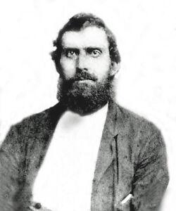 Civil War Photo Newton Knight-Confederate Army Deserter Turn Against Confederacy
