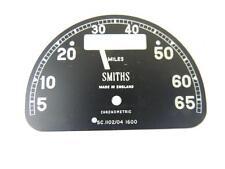 NOS Smiths SC1102/04 D Shaped Speedometer Face Dial Triumph Norton BSA W2909