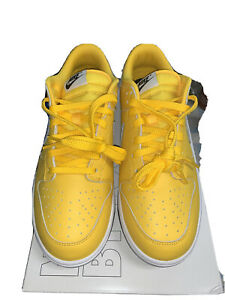 "Nike Dunk Low By You Custom ""Canary"" Size 9.5 Men's"