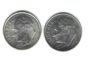 2019-P + D Uncirculated Roosevelt Dimes Both Business Types!