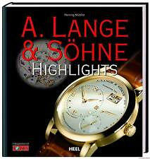 Fachbuch Highlights A. Lange & Söhne Uhren, neues Buch, REDUZIERT, statt 12,95 €