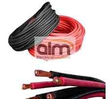 """8/"""" 203 mm Batterie Voiture Black Earth Terre Négatif plomb fil de câble sangle M10 LUG"""