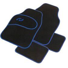 Tapis de protection pour voiture motif pieds de bébé bleu