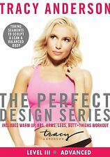 EXERCISE DVD - TRACY ANDERSON - The Perfect Design Series Level 3!