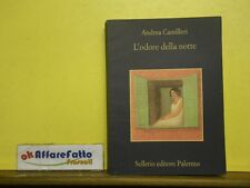 L 5.093 LIBRO L'ODORE DELLA NOTTE DI ANDREA CAMILLERI 2001