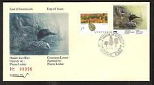 CANADA QUEBEC PROVINCE # QW3 WILDLIFE CONSERVATION 1990 FIRST DAY COVER