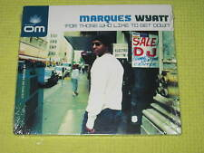 Marques Wyatt For Those Who Like To Get Down- CD Album NEW – Dance House