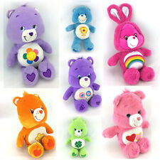 Lot 7 Care Bears Plush Stuffed Animals Medium & Large Dolls Vintage 2000s Toys