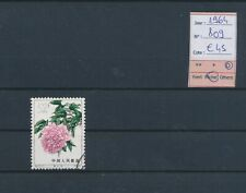 LM13845 China 1964 flowers nature fine lot used cv 45 EUR