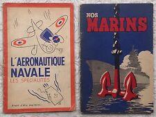 1943 LUC-MARIE BAYLE : LOT DE 2 RARES PLAQUETTES DÉDICACÉES