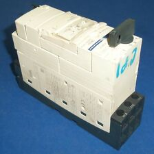 TELEMECANIQUE TeSys POWER BASE W/ MOTOR STARTER CONTROL UNIT LUB12 W/ LUCA1XFU