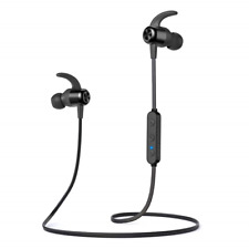 TaoTronics TTBH076 In-Ear Black Wireless Headset - Brand New - 57