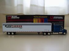 DIE-CAST PROMOTIONS - RUDE CARRIER CORP.  INTERNATIONAL TRACTOR / TRAILER - 1/64