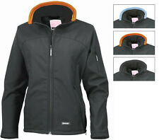 Result Ladies Soft Shell Jacket - Micro Fleece Inner - Shower Proof - Breathable