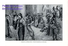 Model market Academy Munich XL 1914 art print by Helene Harth casting theater