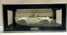 Norev  Porsche 911 Turbo Cabriolet 1987 - Ivory, 1:18 Die Cast, Nr. 187661
