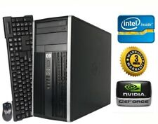 HP Gaming PC Desktop Computer Intel Core i5 QUAD • NVIDIA GTX 1050 • Win10 • SSD