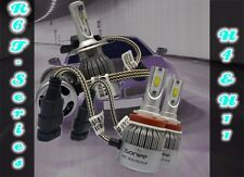 TT R6 F - Series 3800 Lms 36W Xenon Bright White LED Kit H4 and H11 Bulbs