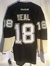 Reebok Premier NHL Jersey Pittsburgh Penguins James Neal Black sz L