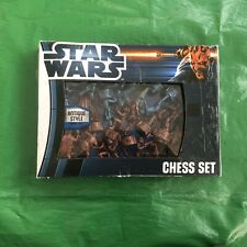 Star Wars Antique Style Chess Set. New In Box