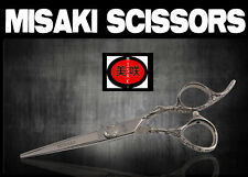 Hairdresser Hair Scissors Flowers Handle 6.0  Misaki with cloth, and case PF30