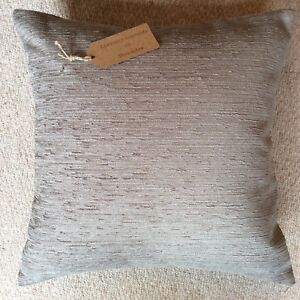 "New 16""x16"" cushion cover hand made in Marks & Spencer mink textured velour"