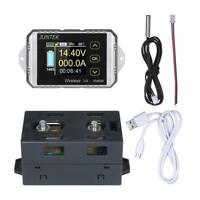 DC 400v 300A wireless capacity Voltage Power Meter Coulomb Counter Display