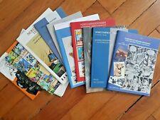 BD 12 catalogues ventes aux enchères BD et planches originales