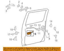 TOYOTA OEM-Interior Inside Door Handle Right 6920502100B1