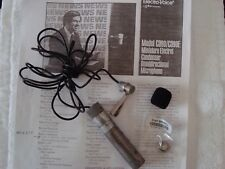 ELECTRO VOICE VINTAGE EV C090 LO-Z /XLR Condenser MIC WORKING CONDITION!!!